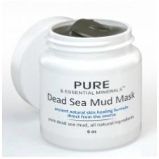 Pure & Essential Minerals Máscara Facial de Lama do Mar Morto