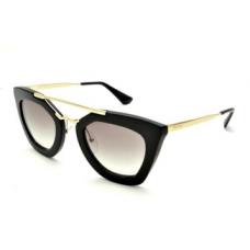 Prada - Óculos PR 09QS - Preto/Dourado