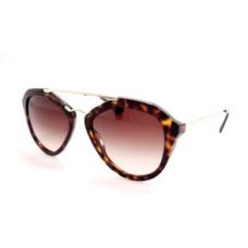 Prada - Óculos PR 12QS - Marrom/Dourado