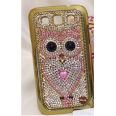 Case Coruja Rosa - (iPhones, Samsungs e outros)