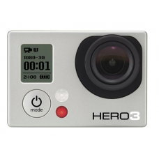 GoPro - HD Hero3 White Edition Action Camera - White