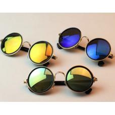 Óculos Redondo Lente Espelhada (4 cores) 59d3bd0c01