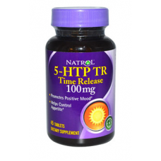 Natrol 5-HTP TR 100 mg 45 Cápsulas