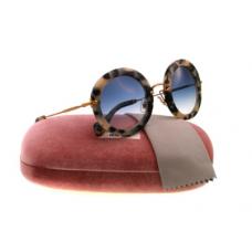 Miu Miu - Óculos MU13NS Sunglasses White Havana