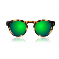 Óculos illesteva - LEONARD OLIVE WITH GREEN MIRRORED LENSES