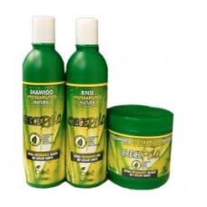 BOE Crece Pelo Tratamento Fitoterapeutico Natural - Kit Shampoo, Condicionador e Mascara