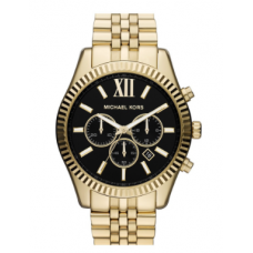 Relogio Michael Kors Large Lexington Chronograph Bracelet Watch, 45mm