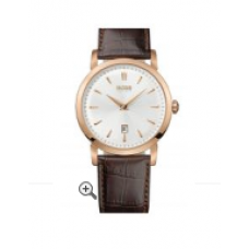 Relogio Boss Hugo Boss Round Leather Strap Rose com Marrom
