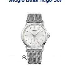 Relogio Boss Hugo Boss Round Mesh Strap Prata