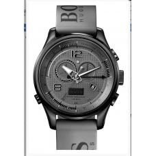 Relogio Boss Hugo Boss Iconic Regatta Chronograph Silicone Cinza