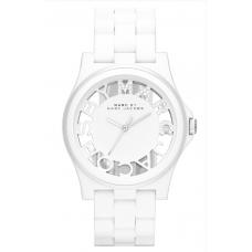 Relógio Marc Jacobs Henry Skeleton Branco