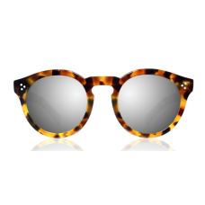 Óculos illesteva - LEONARD II LIGHT TORTOISE WITH SILVER MIRRORED LENSES