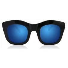 Óculos Sol Illesteva HAMILTON BLACK WITH BLUE MIRRORED LENSES
