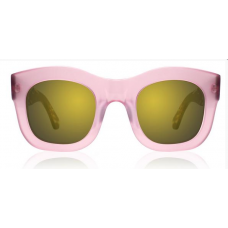 Óculos Sol Illesteva HAMILTON PINK/FOREST WITH GOLD MIRRORED LENSES