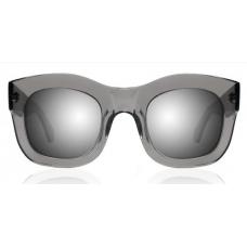 Óculos Sol Illesteva HAMILTON GREY WITH SILVER MIRRORED LENSES