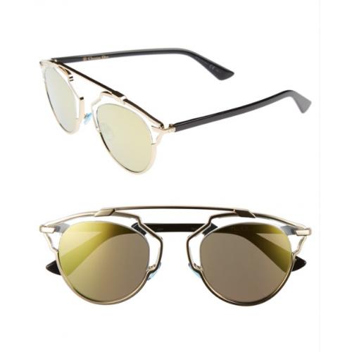 Óculos Sol Dior So Real Gold Crystal Black 9d6cc9ccec