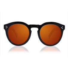 Oculos Sol Illesteva LEONARD II BLACK WITH ORANGE MIRRORED LENSES
