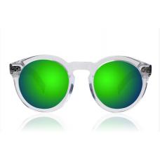 Óculos Sol Illesteva LEONARD II CLEAR / TORTOISE WITH GREEN MIRRORED LENSES