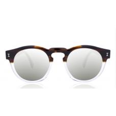 Óculos Sol Illesteva LEONARD HALF/HALF WITH SILVER MIRRORED LENSES