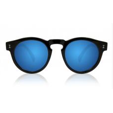 Óculos Sol Illesteva LEONARD BLACK WITH BLUE MIRRORED LENSES