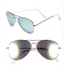 Óculos de Sol BP. Mirrored Aviator Azul com Roxo