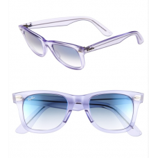 Óculos Ray-Ban Ice Pop Icon Transparente - Grape