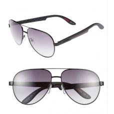 Óculos Carrera Aviator 58mm Preto - Matte Black