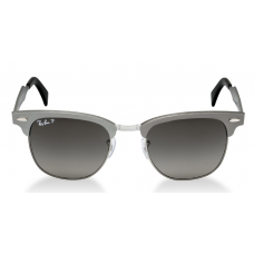 Ray-Ban ClubMaster RB3507 51mm Cinza - Gunmetal/Grey