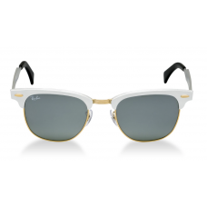 Ray-Ban ClubMaster RB3507 51mm Prata - Silver