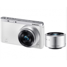 Camera Digital Samsung NX Mini com Lente 9mm e 9-27mm e Case Kit