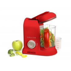 BEABA Babycook Pro 25th Anniversary Food Maker, Red