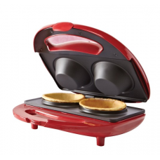 BELLA Waffle Bowl Maker, Red