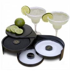 Margarita/Cocktail Glass Rimmer, Black