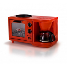 MaxiMatic Elite Cuisine 3-in-1 Breakfast Station 4-Cup Coffee Maker