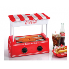 Nostalgia Electrics Coca-Cola Series Hot Dog Roller Retro