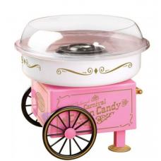 Nostalgia Electrics Vintage Collection Hard & Sugar-Free Candy Cotton Maker PINK - Algodão Doce