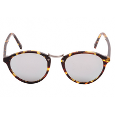 Óculos Spektre Audácia Havana - marrom e prata