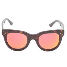 Óculos she loves you - marrom e laranja