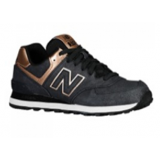 New Balance 574 - Womens Charcoal Precious Metals Collection