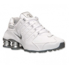 Nike Shox NZ EU Womens Shoes White/Metallic Silver/Cool Grey