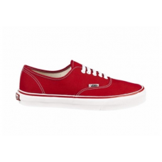 Vans authentic skate shoe red/white