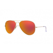 Ray-Ban Aviator Flash Lenses - Orange