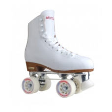 Patins Chicago Skates Womens Deluxe Rink Roller Skates white