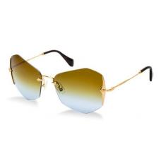 Óculos Miu Miu modelo 52OS lente degradê marrom e azul