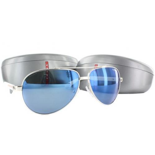 Óculos Prada Masculino espelhado azul 8348b73692