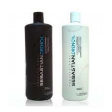 Sebastian Drench Moisturizing (Shampoo and Conditioner) 1L
