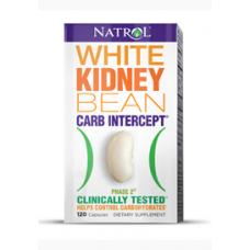 Natrol White Kidney Bean Carb Intercept 120 Capsulas