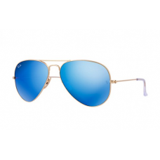 Ray-Ban Aviator Flash Lenses - Blue