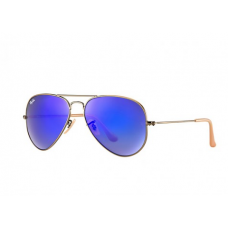 Ray-Ban Aviator Flash Lenses - Blue-Violet Mirror