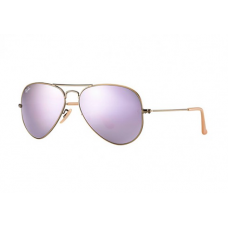 Ray-Ban Aviator Flash Lenses - Lilac Mirror